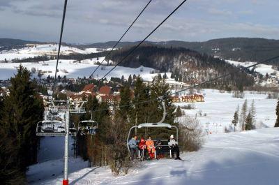 La station de ski de Métabief
