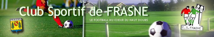 Football : Club sportif de Frasne