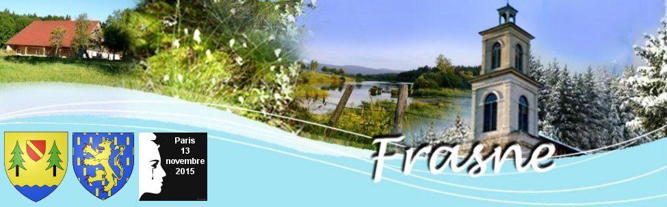 Village de Frasne dans le Doubs - Région Franche-Comté - Massif du Jura - France